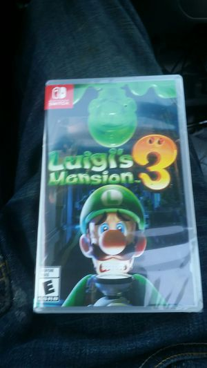Luigis mansion 3 for Nintendo switch for Sale in Seattle, WA
