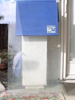 """Shower door 30"""" x 53 3/4"""" - $30 (1 piece only ) for Sale in Fresno,  CA"""