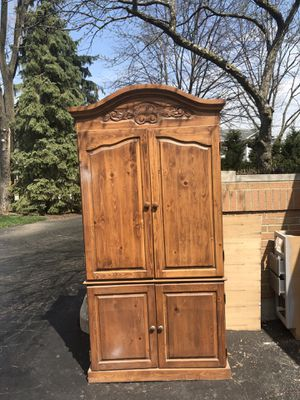 Naked Furniture armoire for Sale in Oakbrook Terrace, IL