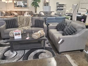 Sofa and Loveseat, Charcoal for Sale in Santa Ana, CA