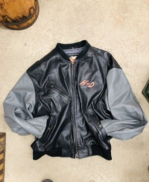 Harley Davidson HD Leather Jacket Size 2XL for Sale in Garland, TX