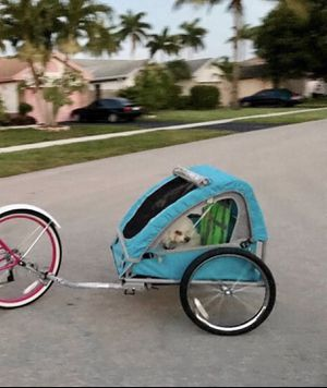 Bike trailer for kids or dog new for Sale in Sunrise, FL