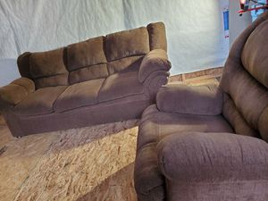 Couch with recliner chair for Sale in Lynnwood, WA