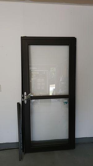 Storm Door - Dark Brown for Sale in Mebane, NC