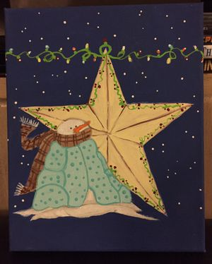 8x10 Christmas painting for Sale in Ontario, CA