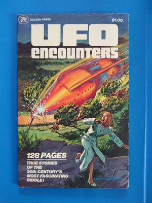UFO Encounters Vol. 1 - 1978 Vintage Comic Book for Sale for sale  Bell Gardens, CA