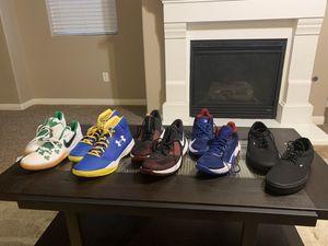 Men's vans 11 1/2 Men's Nike's 8 Men's Nike 11 1/2 Men's kyrie Irving 9 1/2 for Sale in Bakersfield, CA