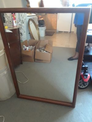 Older Wood Wall Mirror for Sale in St. Louis, MO