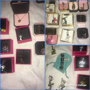 Juicy couture pendents and bracelets for Sale in Anchorage, AK