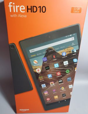 All New Amazon Fire HD 10 Tablet. 10.1'' 32GB for Sale in Miami, FL