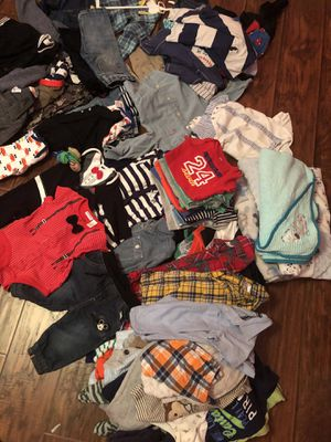Baby boy clothes 0-24 months (excellent condition!) for Sale in Fort Worth, TX