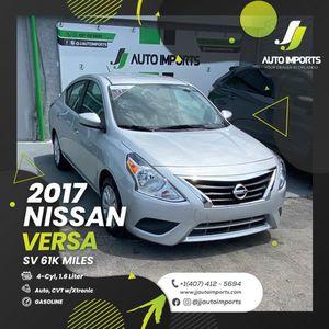 2017 Nissan Versa for Sale in Orlando, FL