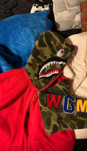 Red Bape Full Zip Hoodie for Sale in DuPont, WA
