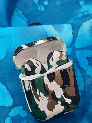 Bluetooth AIRPODS LOOKING CAMO HEADPHONES for Sale in Franklin, MA