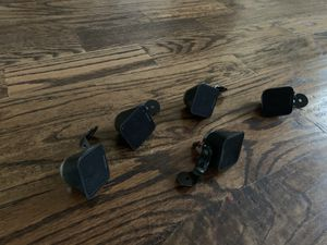 """Sony surround sound speakers including mounts. Speakers are 1""""x1"""" for Sale in Frisco, TX"""