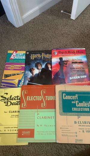 Clarinet music books for Sale in Tracy, CA