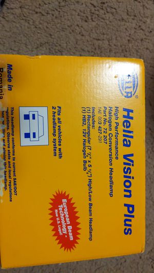 Television plus h4 upgrade headlight for Sale in Bothell, WA