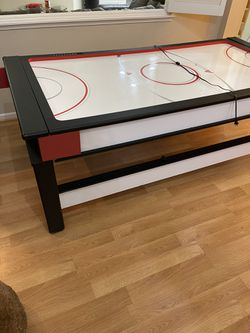 Atomic 2-in-1 Flip Top Game Table - Air Hockey and Billiard for Sale in Hayward,  CA