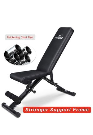 FLYBIRD Weight Bench, adjustable strength training bench for Sale in Renton, WA
