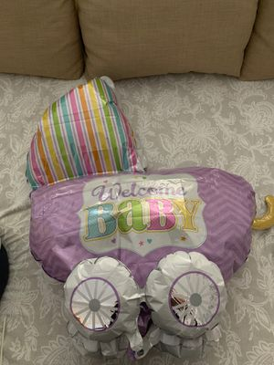 Welcome Baby Carriage Balloon- 32*30 inch 3D for Sale in Mason, OH