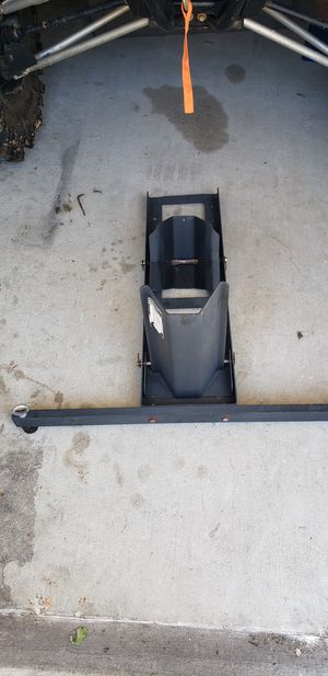 Harbor freight motorcycle stand fits multiple models for Sale in Victoria, TX