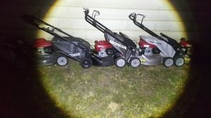 Honda mower forsale!!!!! for Sale in Tacoma, WA