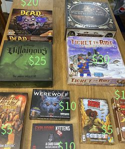 Board Games / Party Games for Sale in McClellan Park,  CA