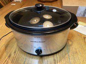 Hamilton Beach electric crock pot for Sale in Midlothian, VA