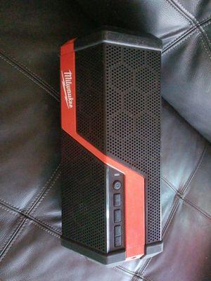 Milwaukee Speaker Bluetooth for Sale in Glendale, AZ