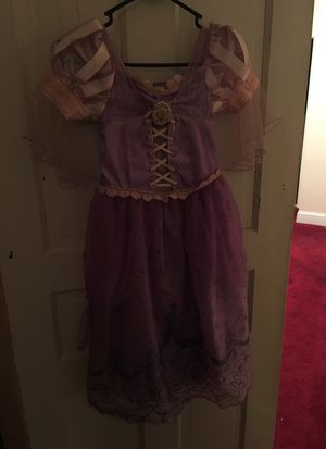 Rapunzel Dress Up Size 5/6 for Sale in Philadelphia, PA