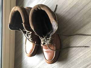 Leather boots (never worn) Size 9 1/2 for Sale in Arlington, VA