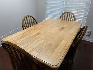Table with 4 chairs for Sale in Morrisville, NC