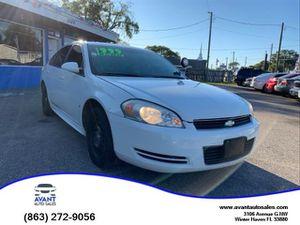2009 Chevrolet Impala Police for Sale in Winter Haven, FL