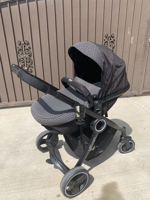 CHICO Urban Stroller w/bassinet and car seat adapter. for Sale in Chino, CA