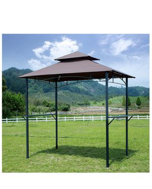 Barbecue Grill Gazebo Outdoor 2-Tier BBQ Canopy Tent Coffee Shelter 8-Feet for Sale in Ontario, CA