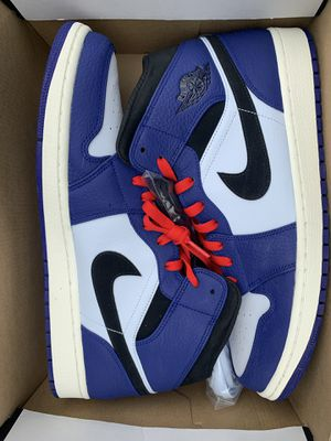 Air Jordan 1s mid deep royal blue for Sale in Seattle, WA