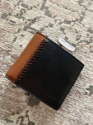 Men's Coach Brand Leather Wallet for Sale in San Diego, CA