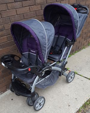 Baby Trend 2 Seat Sit n Stand Double Stroller for Sale in Farmington Hills, MI