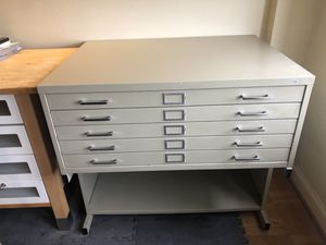 Architectural flat file chest for drawings for Sale in Washington, DC
