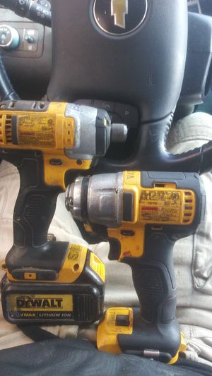 Dewalt impact drill driver 20v max 3 speed impact for Sale in Denver, CO