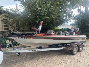 RANGER BASS BOAT for Sale in Hollywood, FL