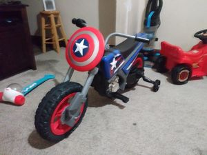 6v Captain america motorcycle for Sale in Minneapolis, MN