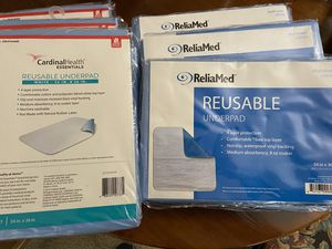 "6 Reusable underpads 34"" by 36"" for Sale in Tacoma, WA"