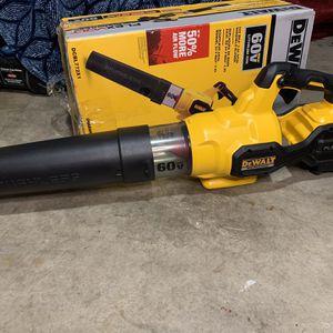 Dewalt Flex Volt Blower (only Tool ) for Sale in Dallas, TX