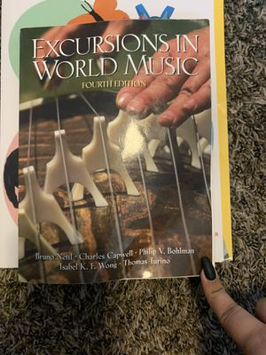 Excursions in world music for Sale in Bloomington, CA