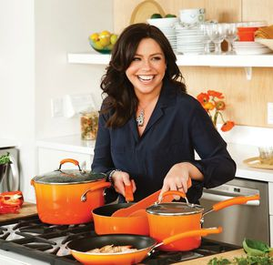 New Rachael Ray 16 piece hard enamel nonstick cookware pot pans set for Sale in Henderson, NV