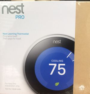 NEST pro learning thermostat for Sale in Moorestown, NJ