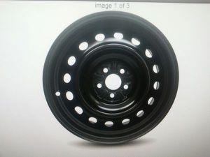 "Toyota corolla 09-15 & matrix 09-15 16"" 5 lug black steel rims stock for Sale in North Las Vegas, NV"