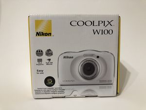 NEW IN THE BOX - Nikon Coolpix W100 Digital Camera for Sale in Murphy, TX