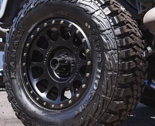 METHOD WHEELS & TIRES PACKAGE • (4) Kanati MT Tires Size 33x12.50R17 - $1599 for Sale in La Habra,  CA